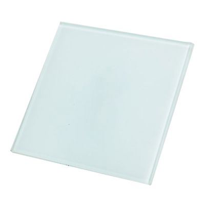 "US Stock, 120pcs 3.9"" x 3.9"" Square Sublimation Blank Glass Coaster"