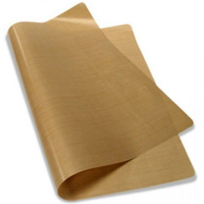 "16"" x 24"" PTFE Coated Fiberglass Fabric Sheet 3Mil Thickness for Sublimation Printing"