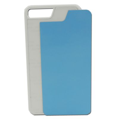 iPhone 7 Blank Cell Phone Case Cover with Metal Sheet for 2D Sublimation Heat Transfer Printing