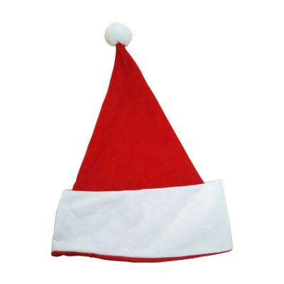 Super Style Blank Sublimation Christmas Caps Soft Plush Hats for Xmas Holiday