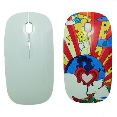 3D Blank Sublimation Cover for Wireless Mouse Replaceable Mouse Cover