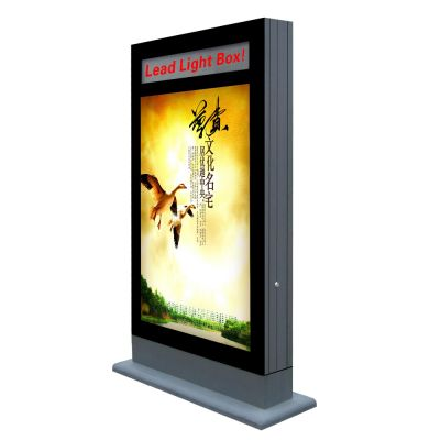 "Double Sides Scrolling Light Box Designed with LED Message Display 49.2""×78.7"" (1250×2000)"