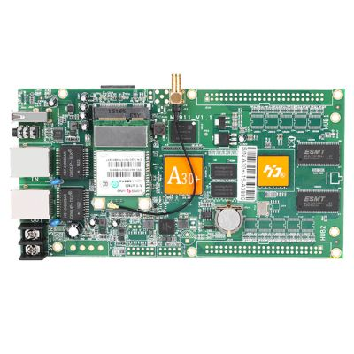 HD-A30+ RGB LED Controller Card 512*1024 Pixel Asychronous Full Color LED Control Card for RGB Full Color LED Display Screen