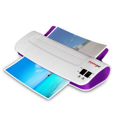 A4 Professional Thermal Office Hot and Cold Laminator for A4 Document Photo Blister Packaging Plastic Film Roll Laminator