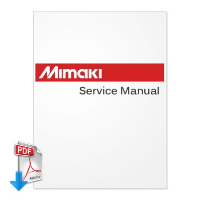 MIMAKI TX-1600S Textile Jet InkJet Plotter Service Manual (Direct Download)