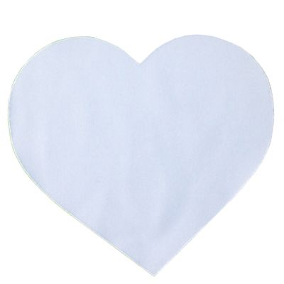 2mm Heart Shaped Blank Sublimation Mouse Pads DIY Mouse Mats