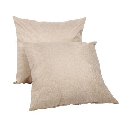 US Stock, Linen Sublimation Blank Pillow Case Cushion Cover (10pcs/pack)
