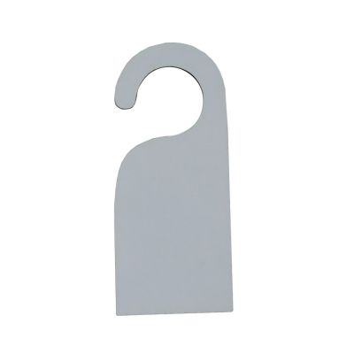 Blank Sublimation Coated MDF Door Handle Signs