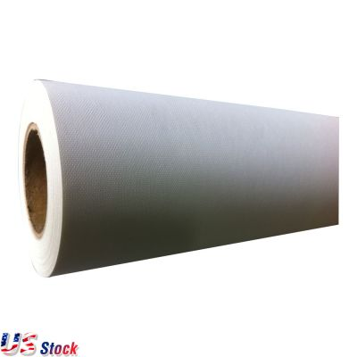 "US Stock-(260gsm)Water Resistant Matte Polyester Canvas 50""(1.27m) (Out of Stock)"