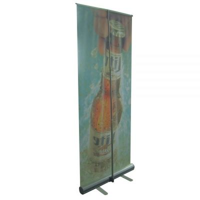 "33"" W x 79"" H Economy Adjustable Roll Up Banner(Graphic Included)"
