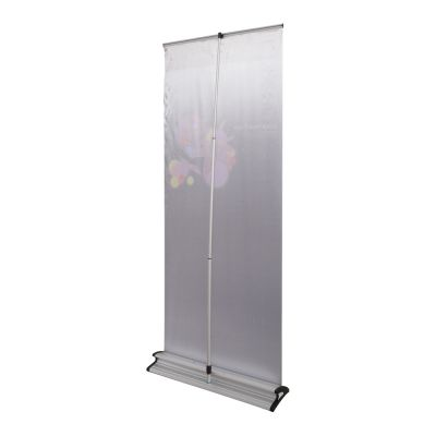 """33"""" W x 79"""" H V-Shaped Base Roll Up Banner (Graphic Included)"""