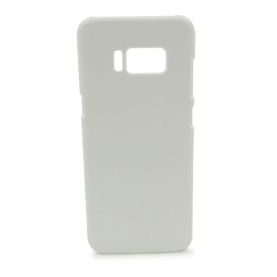 3D Sublimation White Samsung S8 Blank Cell Phone Case Cover for Heat Transfer Printing