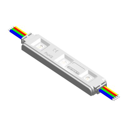 Ving UL SMD 5050 Waterproof LED Module (3 LEDs, RGB Light, 0.72 W, L85 x W18 x H7mm) for Channel Letters