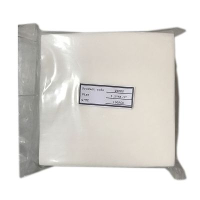 140 x 140mm Fiber Cleaning Wipes FOC-03,100 Pieces
