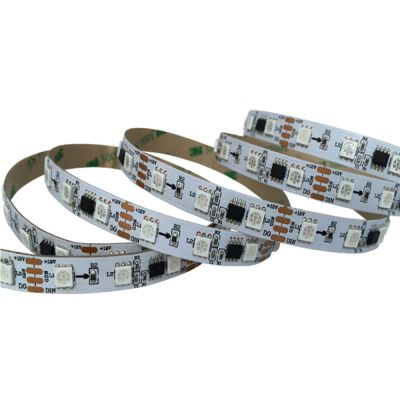 Ving UL Flexible LED Light Strip(60 SMD 5050 Leds Per Meter, Non-waterproof IP20) 5m/roll, WS2811IC, DC12V RGB Magic Color Strip