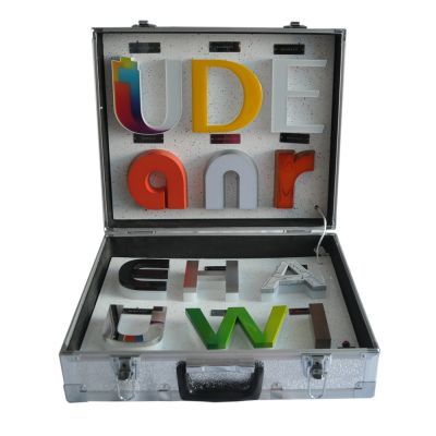 Portable Channel Letter Rechargeable Display Box