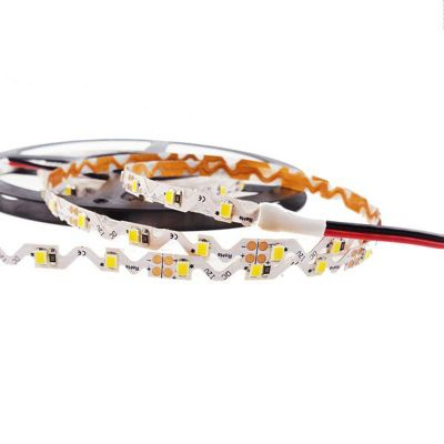 Ving UL High Brightness 16.4FT 2835 Flexible Waterproof LED Strip Bendable S Type 5M SMD 300 White Light NP 12V for Resin Letter