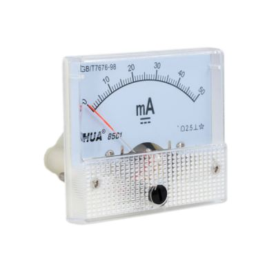 50mA Ammeter Analog Amp Panel Meter Current for CO2 Laser Engraving Cutting Machine