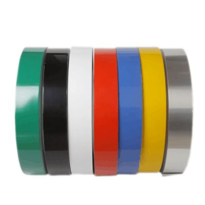 "80mm (3.1"") x 100m (328ft) Roll Aluminum Tape (Flat Coil without Folded Edge, 2 Rolls / pack) for Channel Letter Sign Fabrication Making"