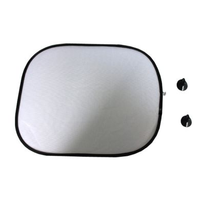Blank White Sublimation Car Sunshade Set