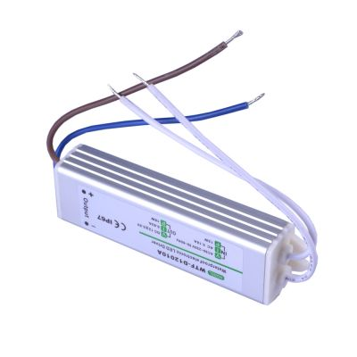 15W AC100V-240V to DC 12V 1.25A Waterproof Metal Shell  LED Power Supply Transformer Driver(for LED Module/LED Strip/LED  Bar)