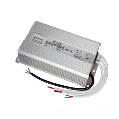 250W AC100V-240V to DC 24V 10A Waterproof Metal Shell LED Power Supply Transformer Driver(for LED Module/LED Strip/LED Bar)