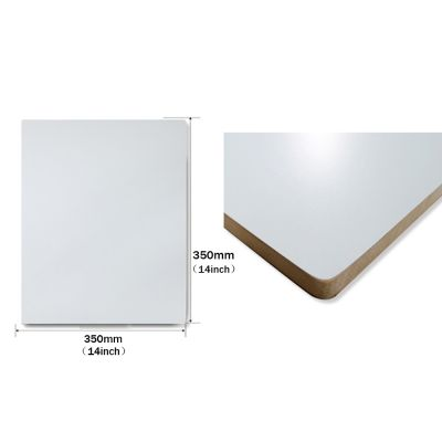"""14""""x 14"""" Normal Screen Printing Pallet Platen with Right Triangle with No Bracket"""
