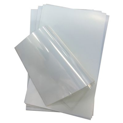 "Waterproof Inkjet Screen Printing Positive Milky Transparency Film 8.5""x14"" 25 Sheets/Pack"