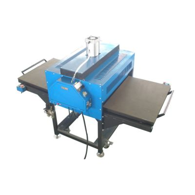 """31"""" x 39"""" Pneumatic Double-Working Table Large Format Heat Press Machine with Pull-out Style,220V Three-phase Power--US Warehouse"""