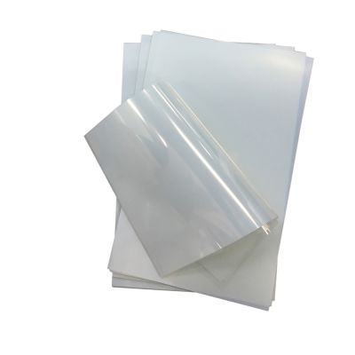 "US Stock, CALCA 100 Sheets/pack Premium Waterproof Inkjet Milky Transparency Film 11"" x 17"" for Screen Printing"
