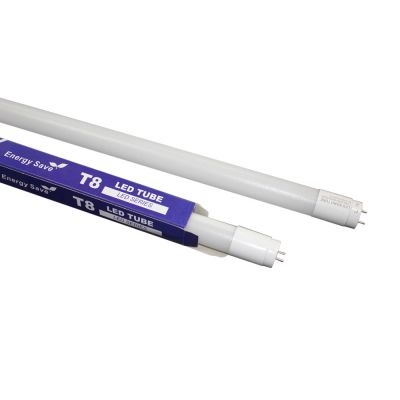 US Stock 25pcs/pack Warm White light LED Tube T8 18W 4FT Nano-Plastic 240° Rotation for Light Box