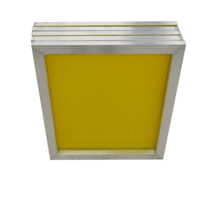 "US Stock, 6 pcs -20"" x 24""Aluminum Screen Printing Screens with 200 Yellow Mesh Count (Tubing: 1""x 1.5"")"