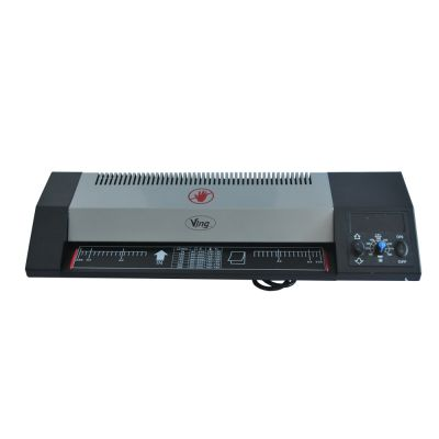 """US Stock, Steel Thermal Laminator A3 A4 Hot & Cold 13"""" Machine Roller Pouch Photo Office, 110V"""