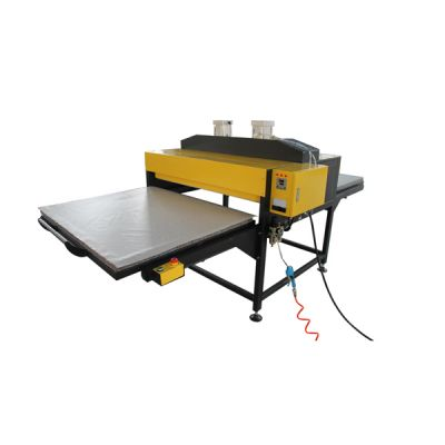 """Ving 39"""" x 47"""" Pneumatic Double-Working Table Large Format Heat Press Machine with Pull-out Style,220V Three-phase Power--US Warehouse"""