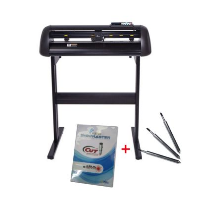 """24"""" Vicsign Vinyl Cutter with CCD Camera, Full Auto Contour Cut Function"""
