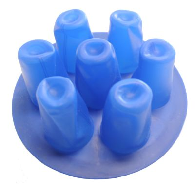 Silicone Mold for Small Wine Glass Cup, 3D Vacuum Heat Press Print