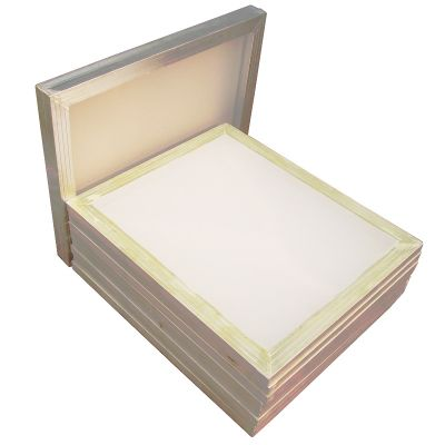 "6 pcs -18"" x 20""Aluminum Screen Printing Screens With 160 White Mesh Count (Tubing:1""x 1.5"")"