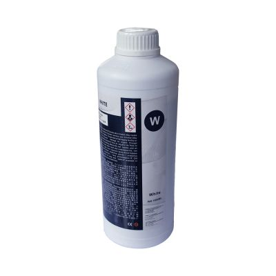 Special DTG White Ink for Direct to Digital T-shirt Printer (1000ml/bottle)