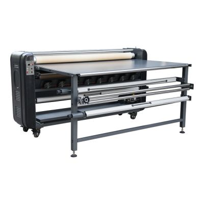 "US Stock, 1700mm 67"" Roll-to-Roll Large Format Heat Transfer Machine for Making Samples (Oil-warming Machine)"