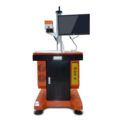 20W High Precision Fiber Laser Marking & Engraving Machine Metal & Non-metal