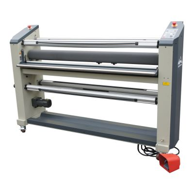 US Stock, Qomolangma Precision Engineered 63in Wide Format Top Heat Assist Laminator