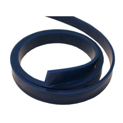 Squeegee Blade 80 Durometer - 12´ Roll( Blue Color)