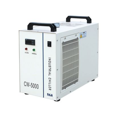 S&A CW-5000 Industrial Water Chiller for 5KW Spindle / Wood Carving Machine, 110V, 60Hz
