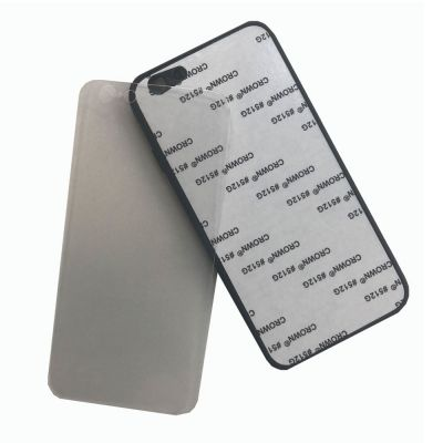 Tempered Glass Material iPhone 7P / 8P Blank Cell Phone Case Cover for UV Printing