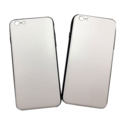 White Bottom iPhone 7P / 8P Blank Cell Phone Case Cover for UV Printing