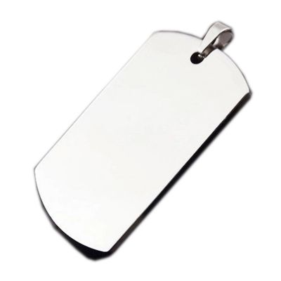 Wholesale High Quality Army Stainless Steel Military Blank Dog Tags