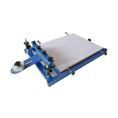 Big Platen Printer 1 Color Screen Printing Press Printer Machine Large Size