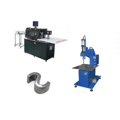 Ving Multifunction Automatic CNC Metal Channel Letter Bending Machine + Clincher Machine