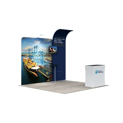 10ft Modular Custom Fast Assemble Exhibition Booth -C1A6