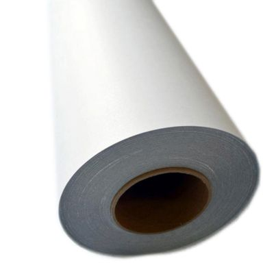 "US Stock-54""  (1.37m) Matte Floor Laminating Film 3"" Core Anti-slip Pressure Sensitive Lamination Film, UL410"